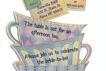 Tea party shower!!! / by Beth Fuller