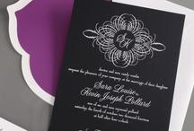 Wedding: Black & White / by William Arthur Fine Stationery
