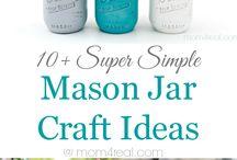 Mason jars / by Jackie Bradley