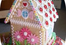 Gingerbread house / by Pascale Rogers