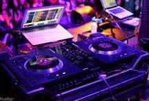 DJ setup / by DJiZM Disc Jockey Services