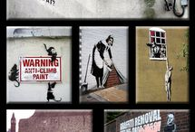 Cool graffiti and amazing steet art / by Annie Frank