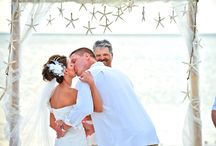 Beach Wedding & Nautical Wedding / because life is a beach and there is no better way of  getting married than barefoot in the sand, the wind playing with your veil and the ocean as a picture-perfect backdrop / by urbansleekblonde