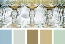 Home - color palettes / by Sheila Brink Addison