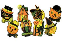 Vintage Halloween Decorations / by Paul Martinez