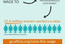 #RaiseTheWage / by AFL-CIO