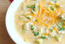 Soup Recipes / by Crystal Lybrink
