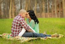 My engagement pics by Janna Leigh / by Ashley Riggs
