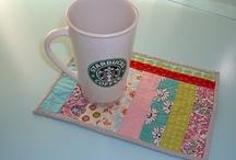 mug rugs / by Rachel Herrick