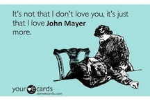 John Mayer / I tried not to have a board dedicated to John Mayer.  But I just couldn't help myself!   / by Carrie Boras
