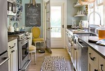 Galley Kitchens / by Theresa B