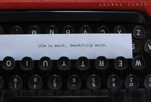 words / by Christen Mercier