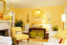 Yellow Living Rooms / by Ashley Lynch