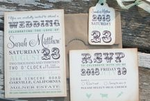 Vintage Wedding Invitations / by The Kaaterskill