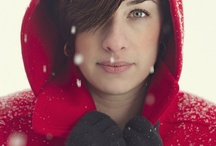 Snow portraits / Pictures in the snow.  / by Kim Robertson