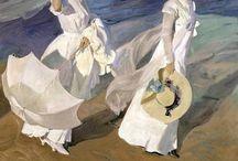 ARTISTAS: IMPRESIONISTAS Y AFINES / Artistas impresionistas, fundamentalmente pintores. Así como los movimientos en torno al Impresionismo / by Antonia Martínez Conejo