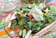 Salads / by Brenda Downey