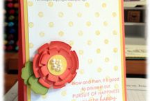 Stampin' Up! - Flowers / by Rochelle Blok, Independent Stampin'  Up! Demonstrator