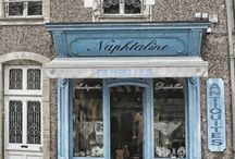 shop fronts / by Helen .