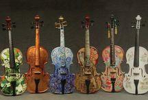 Strings, violin, viola, cello, etc... / by Jo-Ann Pedigo