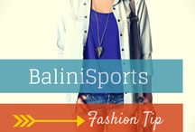 Fashionista / Tips on how to dress up & down with your BaliniSports Yoga Wear. / by BaliniSports