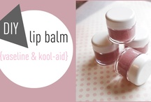 Lip balm  / by Nancy Shampo