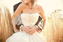 engagement & wedding pics / by Corina
