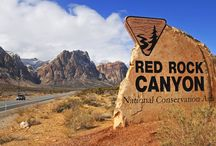 Red Rock Canyon National Conservation Area / Red Rock Canyon was designated as Nevada's first National Conservation Area. Red Rock Canyon is located 17 miles west of the Las Vegas Strip on Charleston Boulevard/State Route 159.  / by Bureau of Land Management