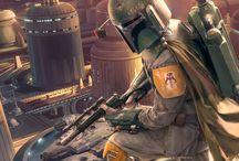 Star Wars - Boba Fett / by Dejan Mauzer