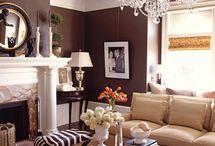 Lovely Living Spaces / by Sandra Downie | SandraDownie.com