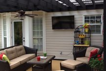 Outdoor Patio / by Heather Harrison