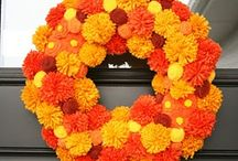 fall decor / by Paige Grimshaw