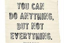 Quotes / by Alissa @CraftyEndeavor.com