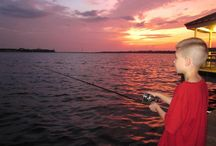 Reel 'em in!  / This could be YOU! Visit http://www.gulfcoast.org/fishing/ for details on charter fishing on the Mississippi Gulf Coast.  / by MS Gulf Coast