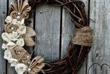 wreaths / by Kelsey Desselle