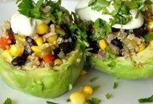 Vegan recipes - avocado / by Kathy Hester