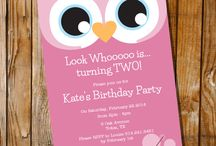 Kaylee's 2nd birthday ideas / by Nicky Ray