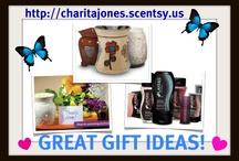 SCENTSY GIFT IDEAS ♥ / http://charitajones.scentsy.us / by Charita Jones