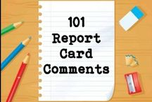 Report card / by Heather Hamby