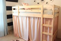 Girls' bedrooms / by Kendra Giaculli