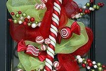 Xmas Wreath/Deco ideas  / by Unique Mesh Design By Elisa