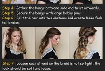 Wedding Hairstyles / by Heidi Becker
