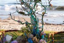 Mermaid/ocean themed party / by Kenzie Hash