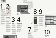 Dieter Rams / Industrial Design/Product Design examples from Dieter Rams.