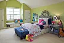 Stylish bedrooms! / by Tina Rose