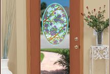 Decorative Glass Accents / by Wallpaper For Windows