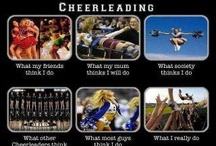 CHEER IS MY LIFE!! <3 / by Valerie Torres