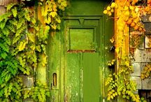 Beautiful doors and doorknobs  / by Brittany Holman