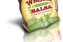 Wholly Salsa products / Salsa is not just for chips anymore!  Add these healthy, yummy, all-natural salsas to chicken, fish, pork or pasta for great meals all year round! / by Wholly Guacamole