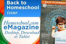 Homeschool.com Magazine - Back to Homeschool Issue / Homeschool.com Magazine - Back to Homeschool Issue / by Homeschool.com